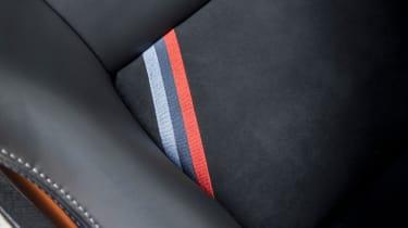BMW M4 GTS UK 2016 - seat detail