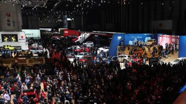 Geneva Motor Show - crowds