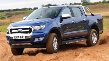 Ford Ranger - off road front