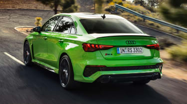 Audi RS 3 Saloon - rear action