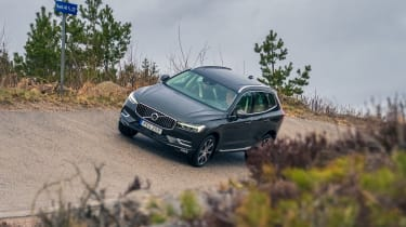 Volvo XC60 ride review - camber