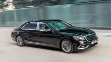 New Mercedes-Maybach S-Class - front