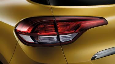 Renault Scenic - rear light detail