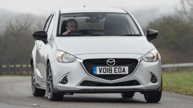 Mazda 2 Sport Black - front action