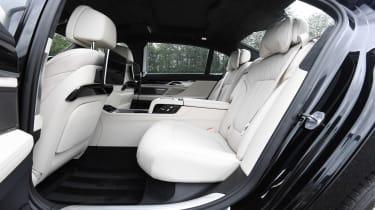 BMW 7 Series - rear seats