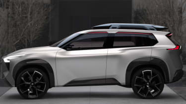 Nissan Xmotion Concept - side profile