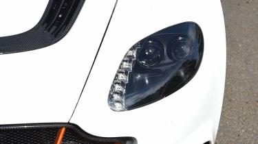 Aston Martin Vantage GT12 - headlights
