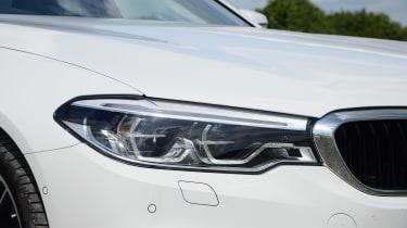 BMW 530e - front light
