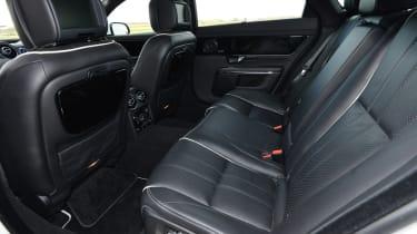 Jaguar XJ L rear seats