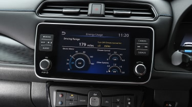 Nissan Leaf e+ - infotainment