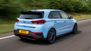 Hyundai i30 N Performance DCT - rear tracking