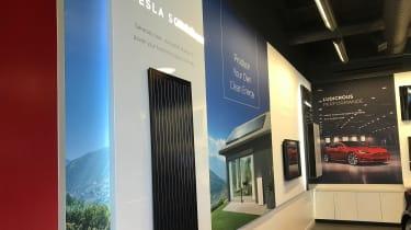 Tesla Factory Tour - solar panels
