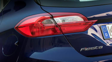 Ford Fiesta ST-Line - rear light detail