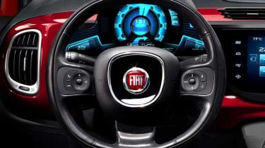 Fiat 500 2016 steering wheel