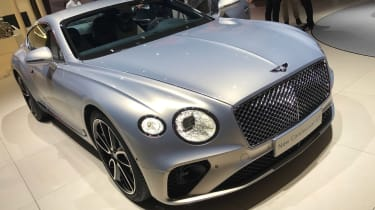 Bentley Continental GT - Frankfurt front