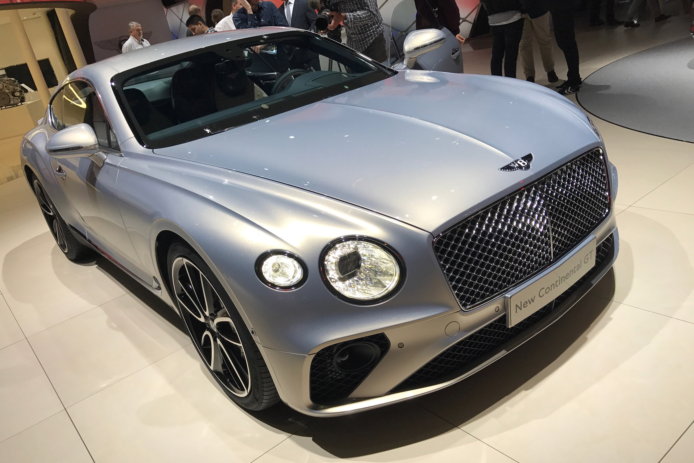 New 2018 Bentley Continental Gt Goes On Display In Frankfurt Auto Express