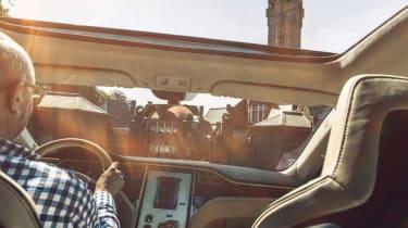 Tesla Model S Shooting Brake estate interior