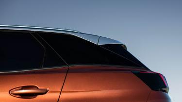 Peugeot 3008 - rear profile