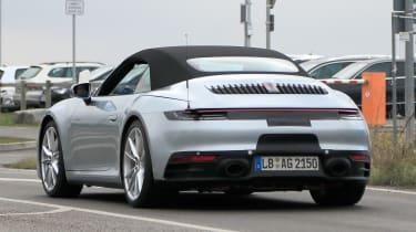New Porsche 911 Cabriolet - spyshot 9