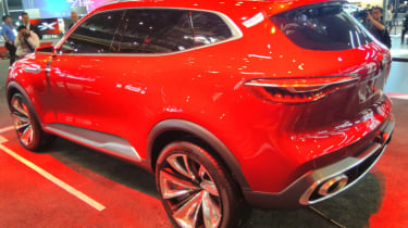 MG X-Motion concept rear quarter