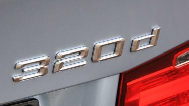 BMW 3 Series - track spyshot front/side