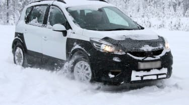 Renault Scenic crossover front side