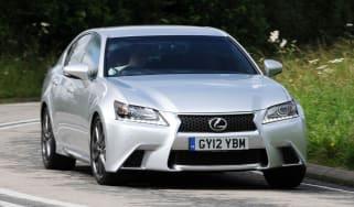 Lexus GS250 front action