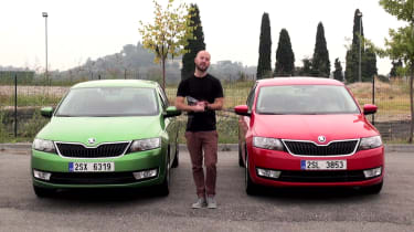 Skoda Rapid Spaceback 2013 video review