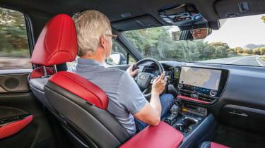 Lexus NX - driving