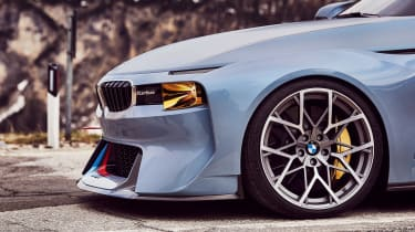 BMW 2002 Hommage - front side detail