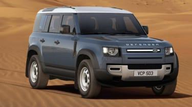 James Batchelor Land Rover Defender