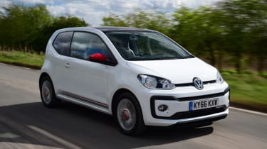 Volkswagen up! - long termer second report front