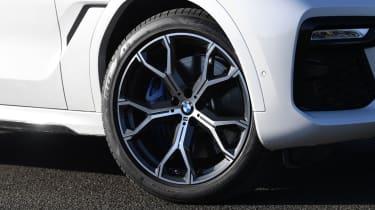BMW X6 twin test - wheel