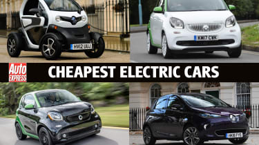 Cheapest electric cars main image