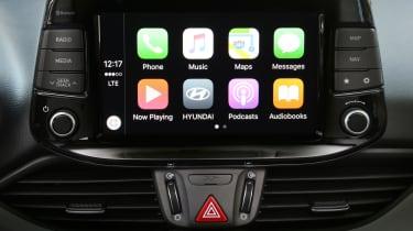 Hyundai i30 2017 - apple carplay