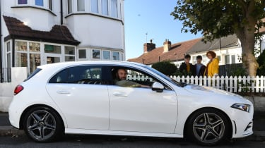 Mercedes A-Class long-term test review - outside house