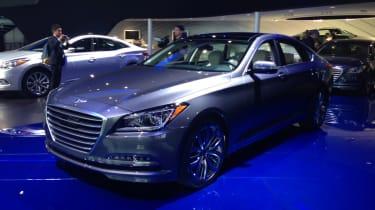 Hyundai Genesis @ Detroit 1
