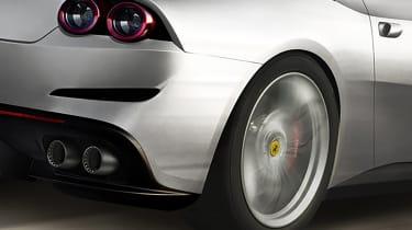 Ferrari GTC4 Lusso T detail