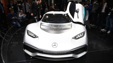 Frankfurt - Mercedes-Benz Project ONE - bonnet