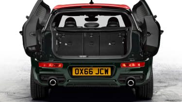 MINI John Cooper Works Clubman - rear boot open