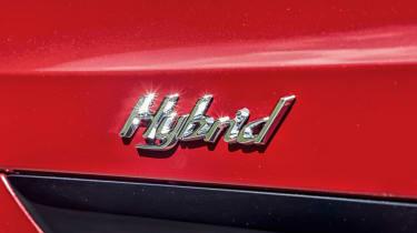 Bentley Bentayga Hybrid - Hybrid badge