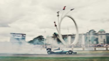 Goodwood Festival of Speed - sculpture