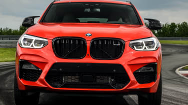 BMW X4 M Competition - front static