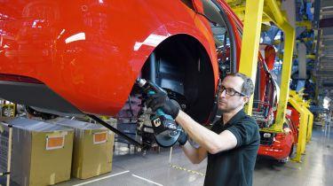 Vauxhall Ellesmere Port factory
