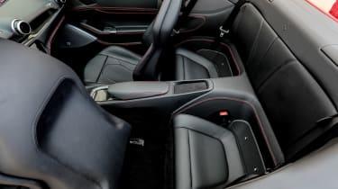 Ferrari Portofino - rear seats