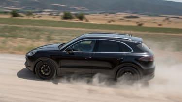 Porsche Cayenne prototype - side off-road