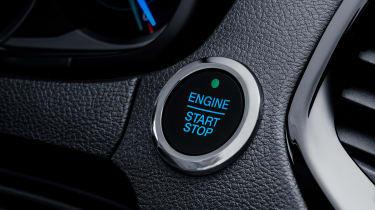 Ford Ka+ - starter button