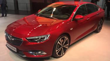 Vauxhall Insignia Grand Sport Geneva - front static