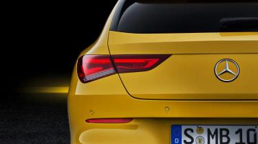 Mercedes CLA Shooting Brake - studio rear light