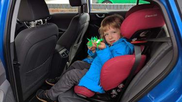 Hyundai Ioniq Plug-in long term - rear leg room